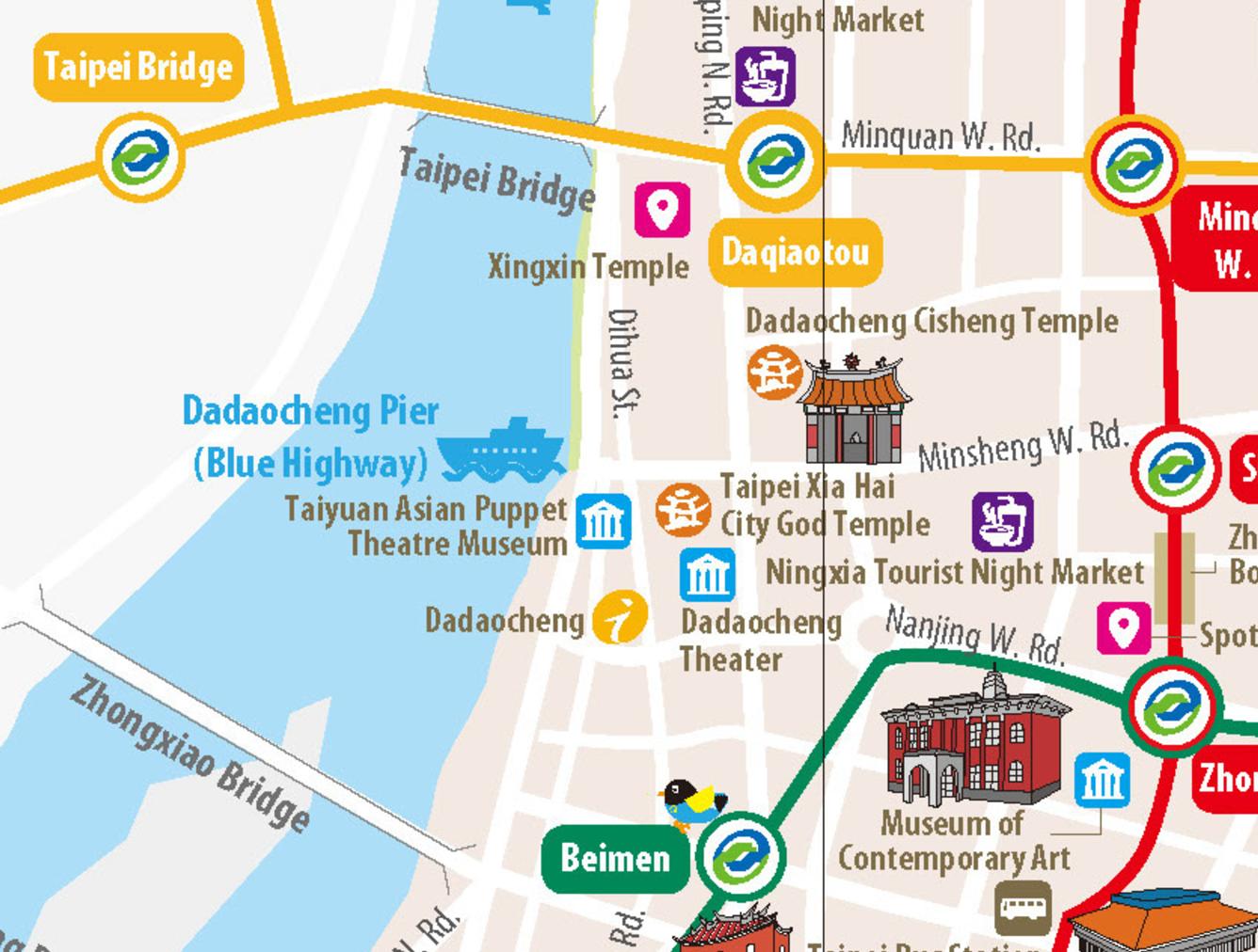 source tourist map traveltaipei